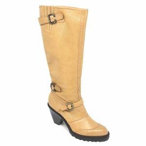 Women's Via Spiga Knee High Boots Shoes Sz 9.5M